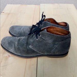 John Varvatos Italian suede shoes